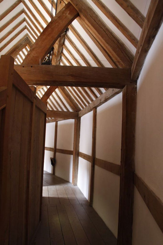 Globe Theatre timber frame
