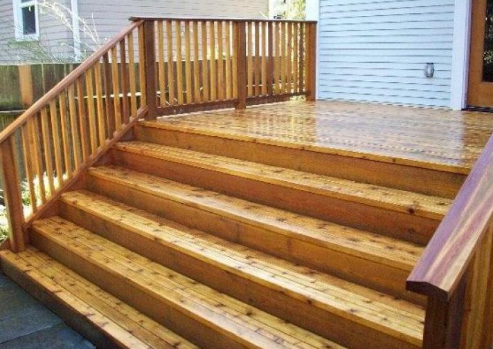 Stairs Exterior Woodsolutions