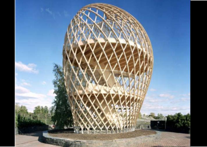 Kupla The Bubble Korkeasaari Zoo Lookout Tower Woodsolutions