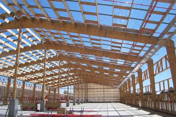 Be Surprised By This Large Timber Warehouse Structure