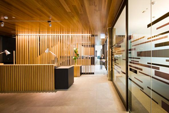 An Innovative Staircase Takes Abigroup Higher Woodsolutions